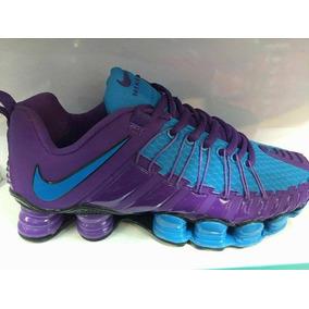fd6b3bbdf57 Tênis Nike Shox 12 Molas Masculino - Nike Violeta no Mercado Livre ...