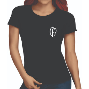 Camiseta Corinthians Feminina Cp Camisetas - Camisetas e Blusas no ... 7d11aff57087a