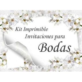Kit Imprimible - Bodas Y Despedida De Soltera - Candy Bar