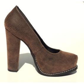 ad9ba959ba2ba Zapatos Mujer Stilettos - Zapatos Marrón en Mercado Libre Argentina