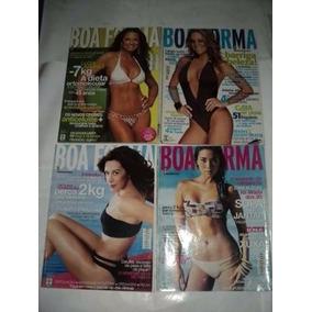 Revistas - Lote 04 Revista Boa Forma - N° 08 - 09 - 11 - 19