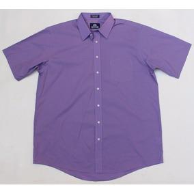 Camisa Manga Corta 17 1/2 Stafford Extra Grande Xl