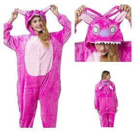 b124102a77a Pijama Kigurumi Stitch Rosa (angel) Y Envío Gratis!