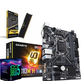 Kit I5 8400 + Placa H310m H Gigabyte + 8gb Ddr4 2400 Mhz