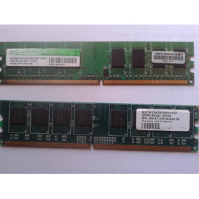 Memorias Ddr2 De 1gb 533 Y 667