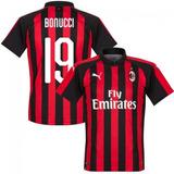 Camisa Milan 2019 - Frete Grátis E Sem Juros