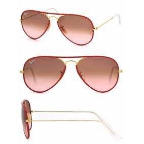 Óculos Ray Ban Aviador Lente Vermelha - Óculos no Mercado Livre Brasil 10f7e8a0c0