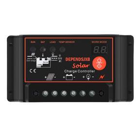 Controlador Carga Solar 60a Solar Eólico 12v 24v Enviorápido