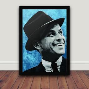 f6c2979d22885 Quadro Frank Sinatra - Artesanato no Mercado Livre Brasil