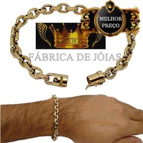 5e82bc633a2 Pulseira De Ouro 750 18k Da Fabrica Das Joias - Pulseiras e ...