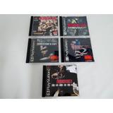 Saga Resident Evil Play Station / Psx / Ps1!