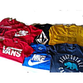 Playeras Vans, Nike, Volcom & Aeropostale