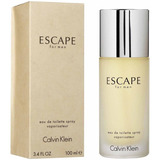 Perfume Importado Escape For Men 100 Ml Edt Original