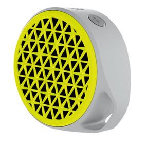 Caixa De Som Bluetooth Logitech X50 3w Rms Amarelo