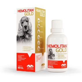 Hemolitan Gold Vetnil Para Cães E Gatos 60ml - 18/07/2019