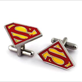 Mancuernillas Superman Cómic Envío Gratis