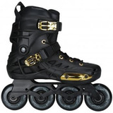 Patins Oxer Darkness Gold - In Line Freestyle - Abec 7