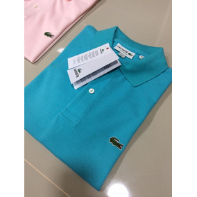 Camiseta Lacoste Azul Marinho Original - Camisetas Manga Curta no ... 66bc3d99cb