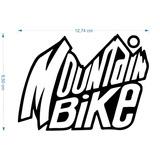 Adesivo Mountain Bike 10cmx15cm Ciclismo Pedal Bicicleta A