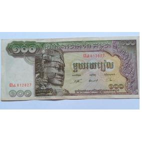 Cedula De 100 Riels (cent Riels) Camboja (antiga)
