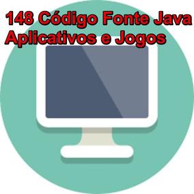 Códigos Fontes Java- Kit Com Mais 148 Aplicativos E Jogos