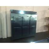 Geladeira Industrial Comercial Inox 6 Portas Refrigel Nova