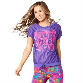 Playera Zumba Tribe Mesh Top
