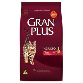 Ração Gran Plus Gato Adulto Carne 10kg