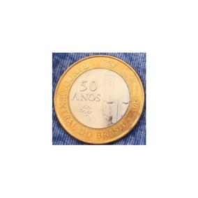 Moeda 1 Real Banco Central 50 Anos (2015)