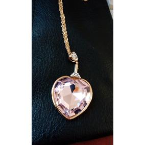 Envio Gratis!!!collar Corazon De Cristal Made With Swarovski