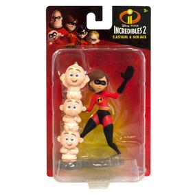 Mini Figuras - Disney - Pixar - Os Incríveis 2 - Mulher Elás