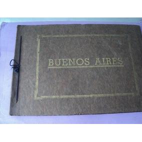 Antigua Carpeta Fotos Impresas De Buenos Ayres