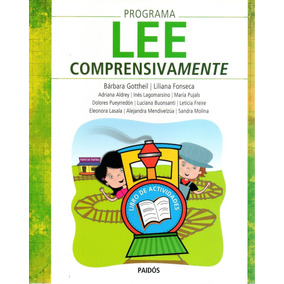 Libro: Programa Lee Comprensivamente ( Paidos)