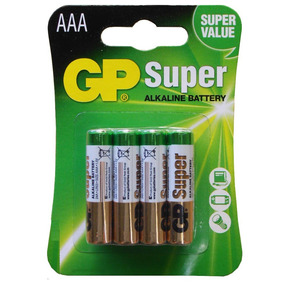 Pila Aaa Gp Super Alcalina Blister De 4 Pilas