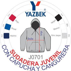 Sudadera Juvenil Capucha/cangurera Yazbek P/estampar Bordar