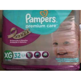 Pañales Pampers Premium Care Xg 32 Unidades Rb