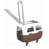 Kennel Modelo 200 Transporte Mascota Perros Avion Iata Rueda