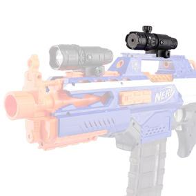 1 Mira Laser Vermelho Nerf Meninos - Acerte O Alvo Stocklar