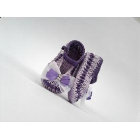 Sapatinho Croche Menino - Calçados Sapatos de Bebê no Mercado Livre ... 9d01eaf12e6