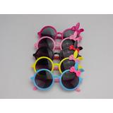 Kit 5 Óculos Infantil Feminino Lacinho Bonito Colorido 98a6d5136b