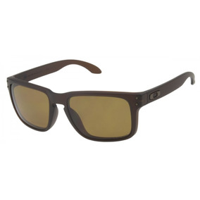 Óculos De Sol Oakley Holbrook Marrom Masculino Polarizado 15ef96f3b5