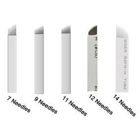 Aguja Filos Flex 7/ 9/ 12 /14 Microblading Blade Filo