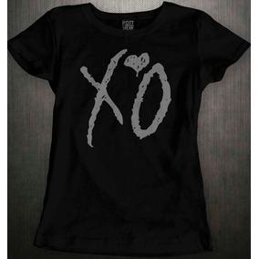 Weeknd Xo Ovoxo Dj Blusa Dama Rott Wear b3edc562dee8a