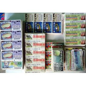 Mais De 3.000 Bilhetes Loterias Federal E Signos - Com Repet