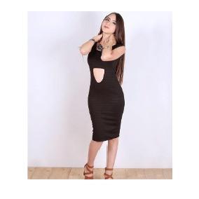 Vestido Sexy,casual, Antro,con Escote En Espalda Y Pecho