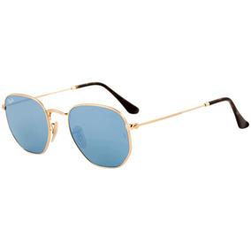41eab113c44a9 Óculos De Sol Ray-ban Hexagonal Rb 3548 001 90 54 - Original