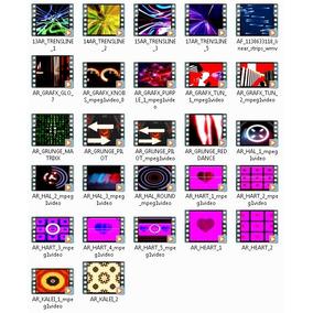 Videos Loops Imagens Clis P/ Telão De Led Vj 5gb