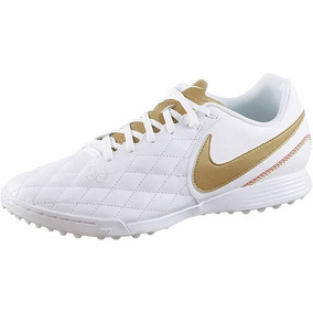e2d97fa26 Botines Nike Blancos Y Dorado - Botines Papi Fútbol en Mercado Libre ...