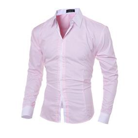 eec9dcd8e5 Camisa Social Slim Fit Importada Manga Longa Alto Padrao - Camisas ...