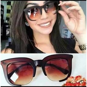 Oculos Sol Quadrado Grande Feminino Outras Marcas - Óculos no ... 57e71192ec